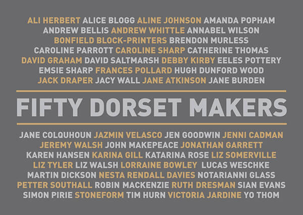 50 Dorset Makers Cover